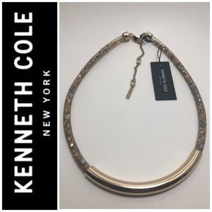 Kenneth Cole GT Frontal Bar Mesh Tube Choker